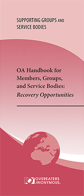 OA Handbook for Members, Groups and Service Bodies <font color=