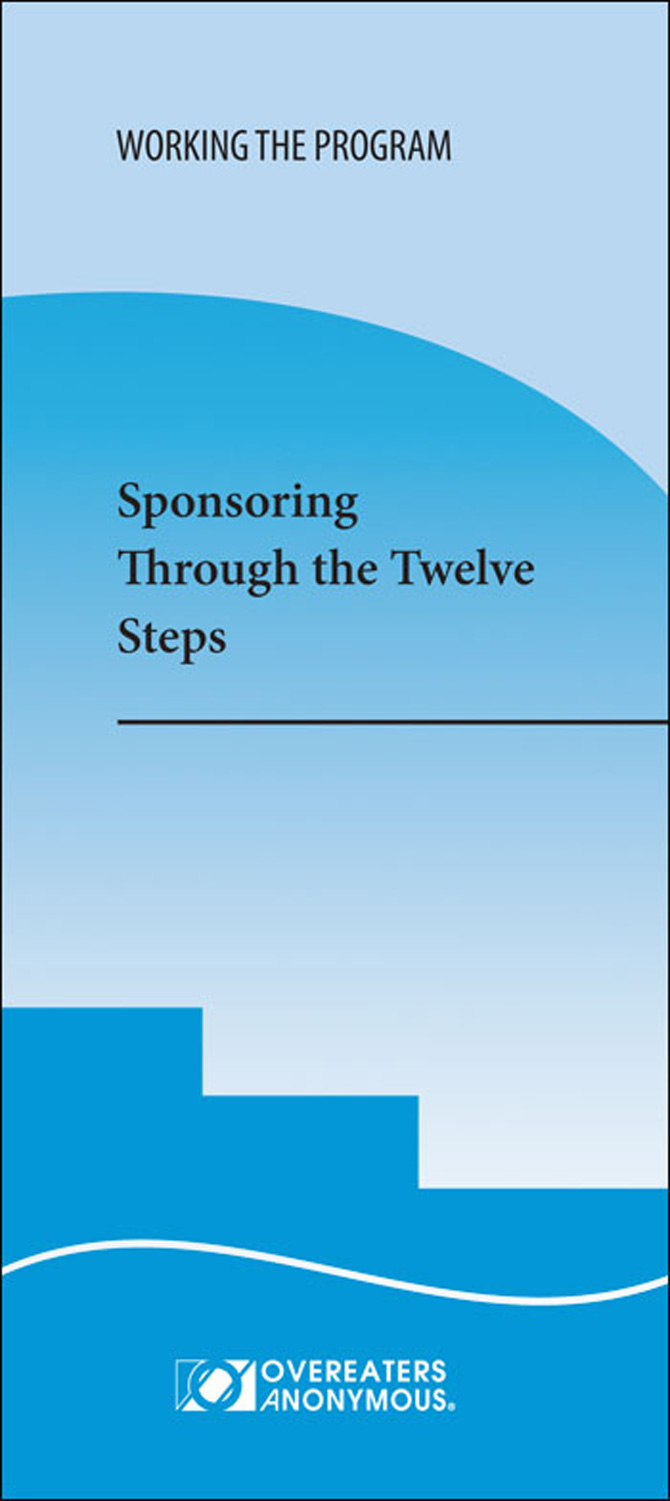 Sponsoring through the 12 steps image