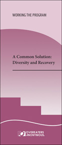 A Common Solution: Diversity and Recovery