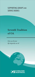 Seventh Tradition of OA <font color=