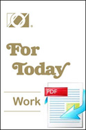 For Today e-Workbook