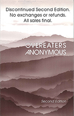 "Overeaters Anonymous, Second Edition<br><font color=""red""><b>THIS IS NOT THE LATEST VERSION</b></font>"