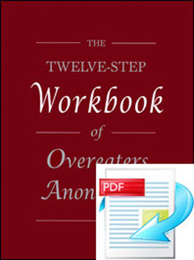 The Twelve Step Workbook of Overeaters Anonymous e-Workbook